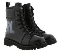 Boots Kadet II Hi Lace Boot Black Leather