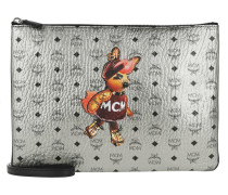 Rabbit Pouch Medium Umhängetasche Silver Clutch