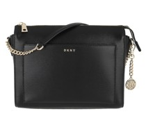 Umhängetasche Bryant Medium Box Crossbody Bag Black/Gold