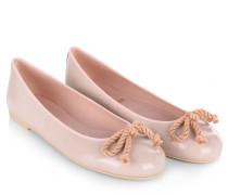 Ballerinas - Rosario Ballerina Patent Leather Rose
