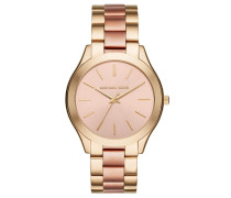 Armbanduhr - Runway Stainless Steel Bicolor Gold/Rose-Tone Watch