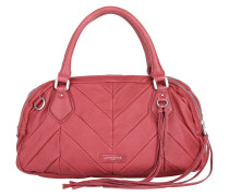 Candice Vintage Water Snake Kiss Red Tote