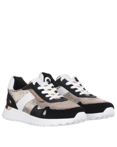 Sneakers Monroe Trainers Gold Black
