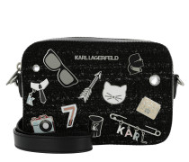 K/Klassik Pins Camera Bag Black