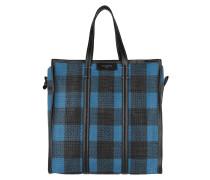 Bazar Shopper M Blue/Black Umhängetasche blau