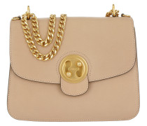 Mily Medium Shoulder Bag Biscotti Beige Umhängetasche rosa