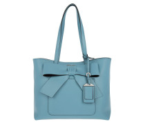 Shopping Bag City Calf Bow Astrale/Nero Tote