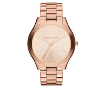 Runway Watch Gold/Rose-Tone Armbanduhr