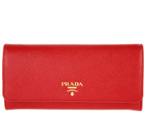 Continental Wallet Rosso Portemonnaie