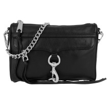 Mini Mac Smooth Shoulder Bag Black Umhängetasche
