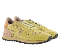 Rockrunner Sneakers with Studs Light Green Sneakers