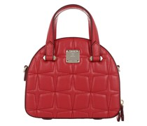 Umhängetasche Essential Quilted Diamond Tote Mini Red