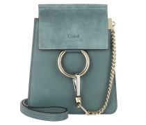 Faye Mini Bag Suede Calfskin Cloudy Blue Tasche