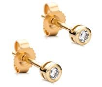 Ohrringe 14KT Diamond Stud Earrings