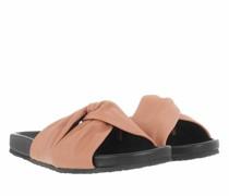 Slipper & Pantoletten Kyomi Slides Smooth Grainy Leather