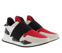 Runner Elastic Noir/Rouge Sneakerss