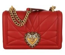 Umhängetasche Devotion Crossbody Mini Bag Leather Rosso Papavero