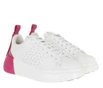 Sneakers Sneaker White Glossy Pink
