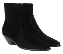 Boots West 45 Zip Booties Nero