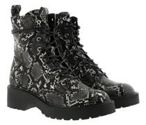 Boots Tornado Bootie Grey Snake