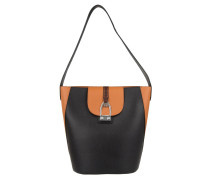 Tasche - Caballito Hobo Bag Black/Brown