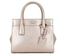 Mini Candace Satchel Bag Rosegold