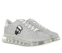 Sneakers KAPRI KUSHION Ikonic Lo Lace Heavy Glitter Silver