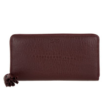 Thea Zip Around Wallet Bordeaux Portemonnaie