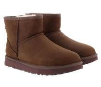 Boots W Classic Mini Leather Chestnut
