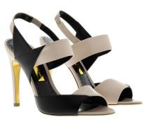 Sandalen - Glynis High Heel Slingback Sandal Black/Nude