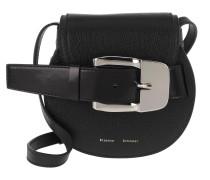 Umhängetasche Buckle Mini Crossbody Bag Calfskin Black