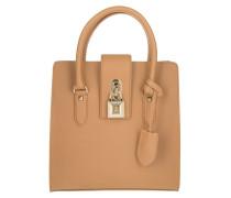 Tasche - Medium Padlock Handbag Clear Beige