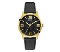 Uhren Mens Dress Genuine Leather Watch