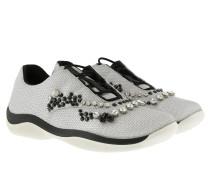 Punto Ala Sneakers Nylon Silver