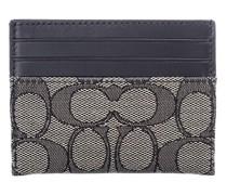 Portemonnaies Signature Jacquard Flat Card Case