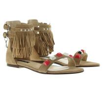 Sandalen - Fringed Sandal Real Beige