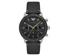 Uhr Men Chrono Watch Black
