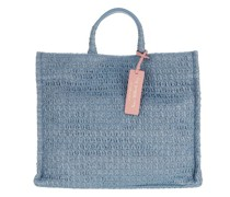 Shopper Handbag Straw Fabric