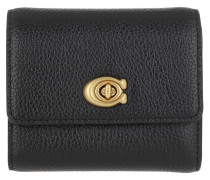 Portemonnaie Small Flap Wallet Black