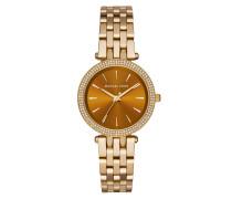 Armbanduhr - Mini Darci Ladies Watch Gold/Brown