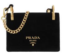 Velvet Shoulder Bag Nero Tasche
