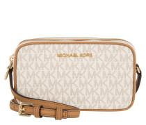 Tasche - Bedford MD Double Zip Crossbody Bag Vanilla/Acorn - in braun, beige