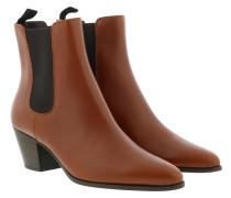 Boots Saint Germain Des Pres Leather Caramel