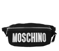 Gürteltasche Belt Bag Nylon Logo Fantasy Print Black