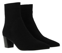 Boots Charlotte Booties Knit Black