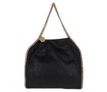 Falabella Shaggy Small Tote Bag Black/Gold