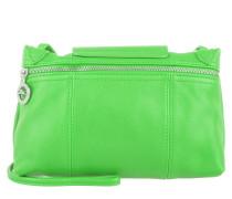 Tasche - Le Pliage Cuir Messenger Crossbody Bag Green