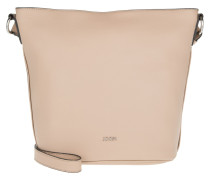 Kassandra Shoulder Bag L Nature Grain Nude Umhängetasche beige