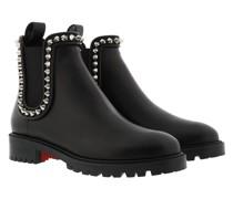 Boots Capahutta Studded Leather Black