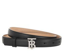 Gürtel Slim Belt Leather Black